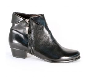 Regarde Le Ciel - Stefany 03 Black Zip Pant Boot