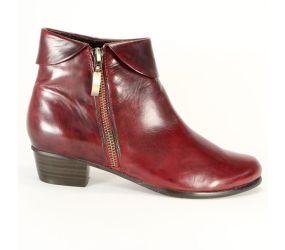 Regarde Le Ciel - Stefany 03 Sangria Zip Pant Boot