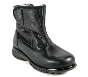 Toe Warmers - Claire Leather Waterproof - Black