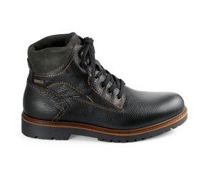 Valleverde - Black Leather Waterproof Boot