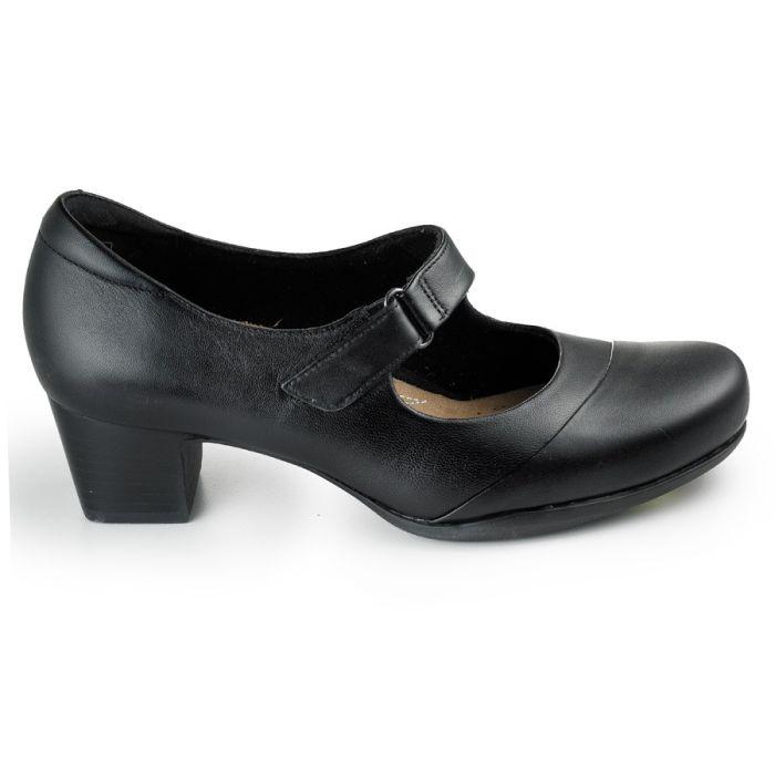 Clarks - Rosalyn Wren Black Leather MJ