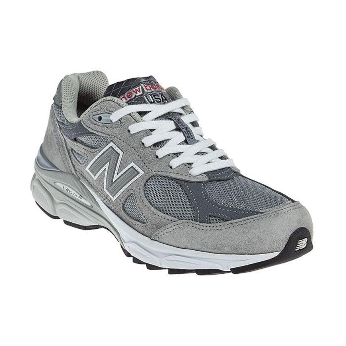 New Balance Womens 990V3 Running Grey | Eneslow