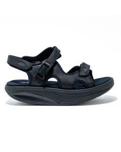 MBT - Women's Kisumu 3S Black Sandal