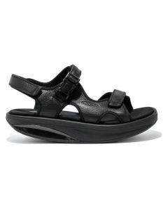 MBT - Men's Kisumu 3S Black Sandal